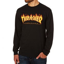 THRASHER Flame tee-shirt à...