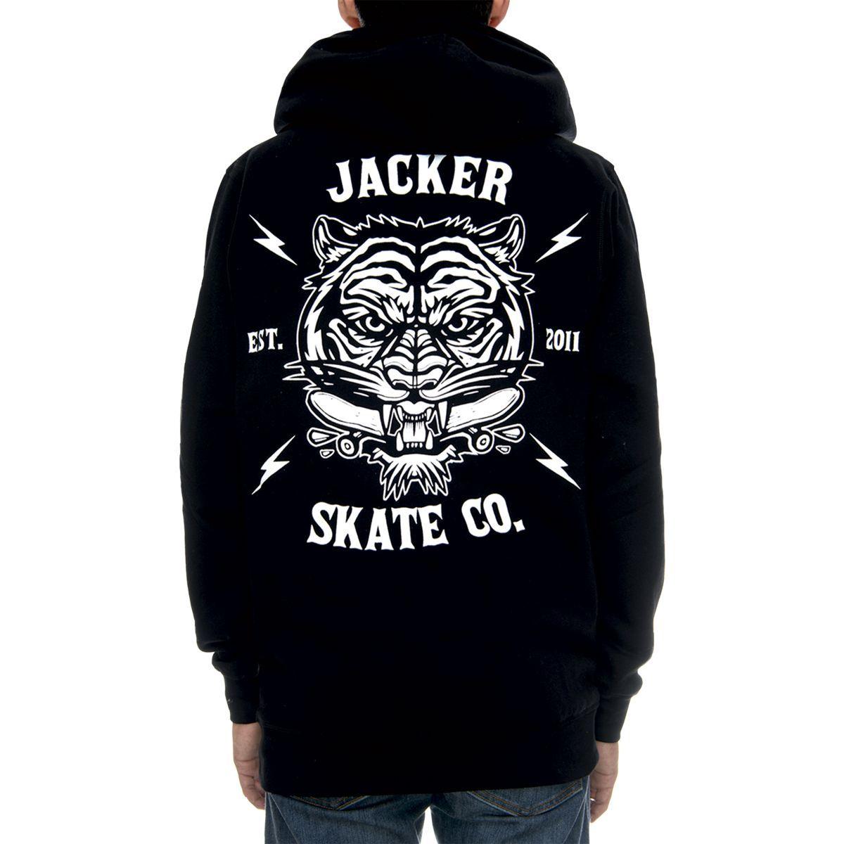 Tigers mob Black JACKER