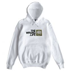 "WRUNG Hoodie ""The Life"" white"