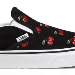 VANS Chaussures Slip-On (Cherries) UA Classic cerises