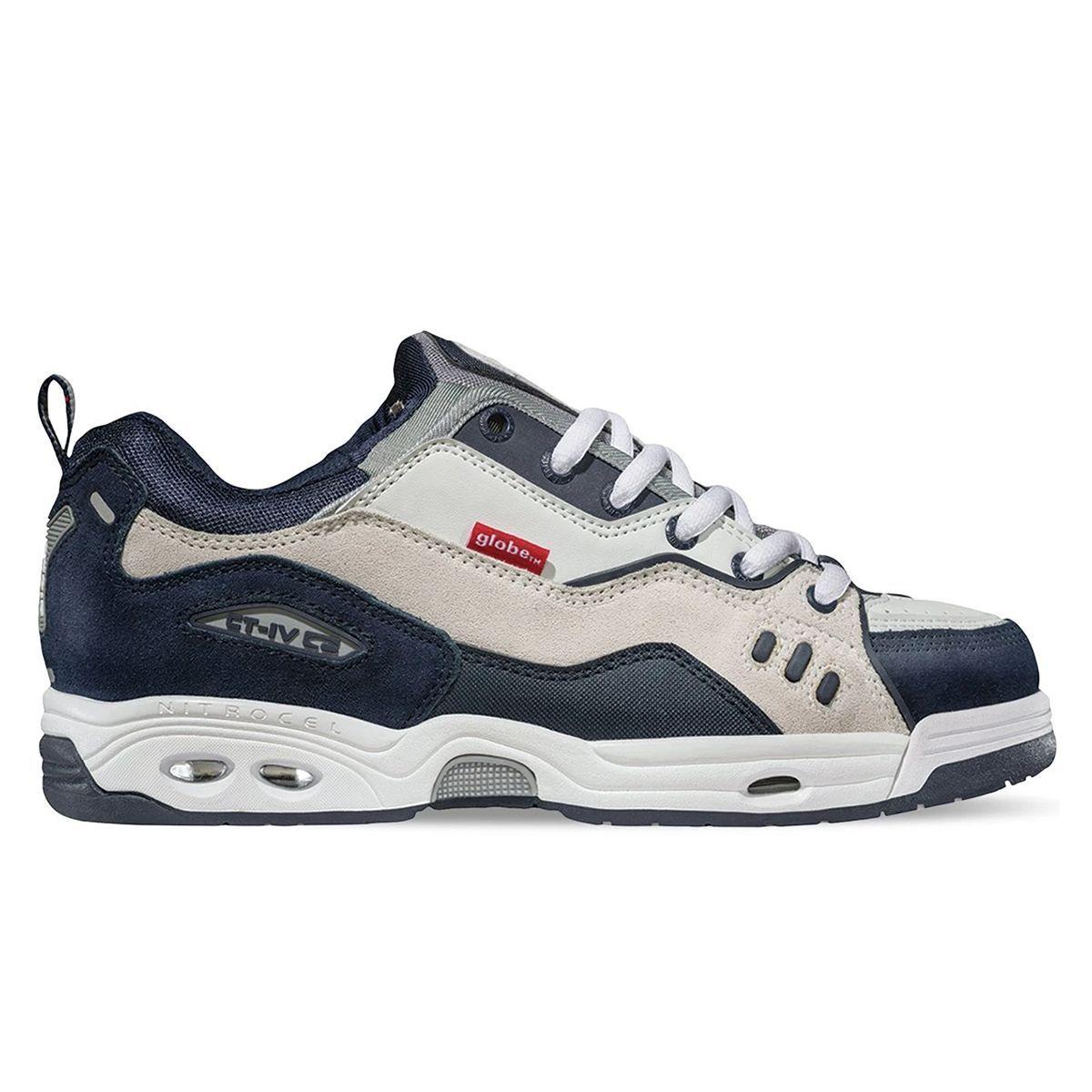 blue Chet Thomas pro-model big skate shoes