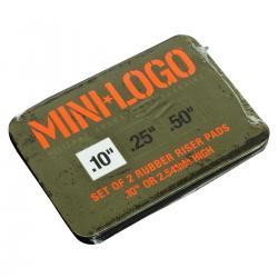 "MINI LOGO x2 shock pads 0.1"""