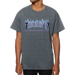 THRASHER Flame Tee-shirt...