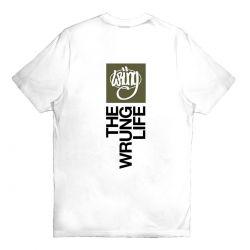 """WRUNG Tee-shirt """"The Life""""..."""