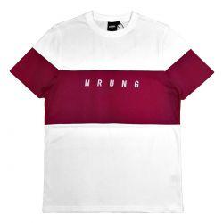 """WRUNG Tee-shirt """"Lineblock""""..."""