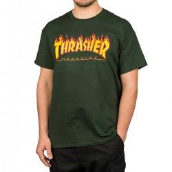 THRASHER T-shirt Flame Logo