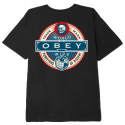 "OBEY Tee-shirt ""Purveyors..."