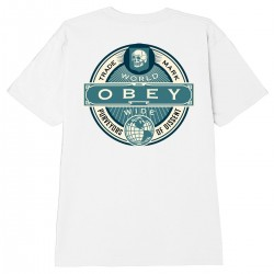 "OBEY Tee-shirt ""Purveyors..."