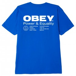 "OBEY Tee-shirt ""Power &..."