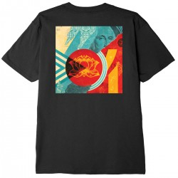 "OBEY Tee-shirt ""Fan The..."