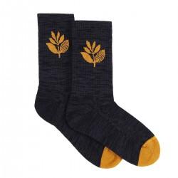 "MAGENTA ""Plant"" socks"