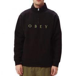 """OBEY """"Lassen Mock Neck Zip""""..."""
