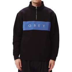 "OBEY ""IAN Mock Neck Zip""..."