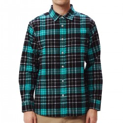 "OBEY ""Lester Woven"" flannel..."