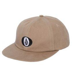 "VOLCOM ""Stone O"" khaki cap"