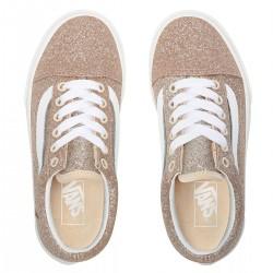 """VANS Shoes """"Old Skool"""" (Glitter) Brazilian Sand/True White"""