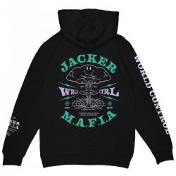 """JACKER """"Nuclear"""" hoodie black"""