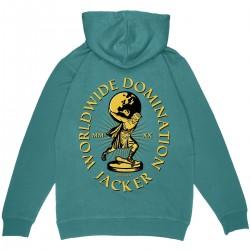 """JACKER """"Atlas"""" hoodie teal"""