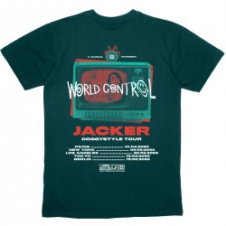 "JACKER ""World Tour"" Tee-shirt"