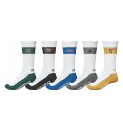 "GLOBE ""Team Crew"" socks 5 pack"