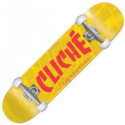 "CLICHÉ ""Banco"" yellow Skate..."