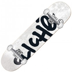 CLICHÉ Skate complet blanc...