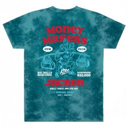 "JACKER ""Money Makers"" teal..."
