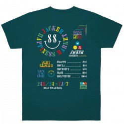 "JACKER tee-shirt ""Happiness..."