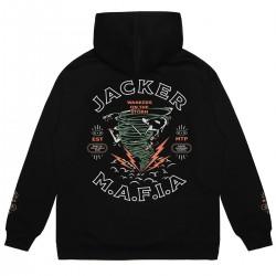 """JACKER """"Storm"""" hoodie black"""