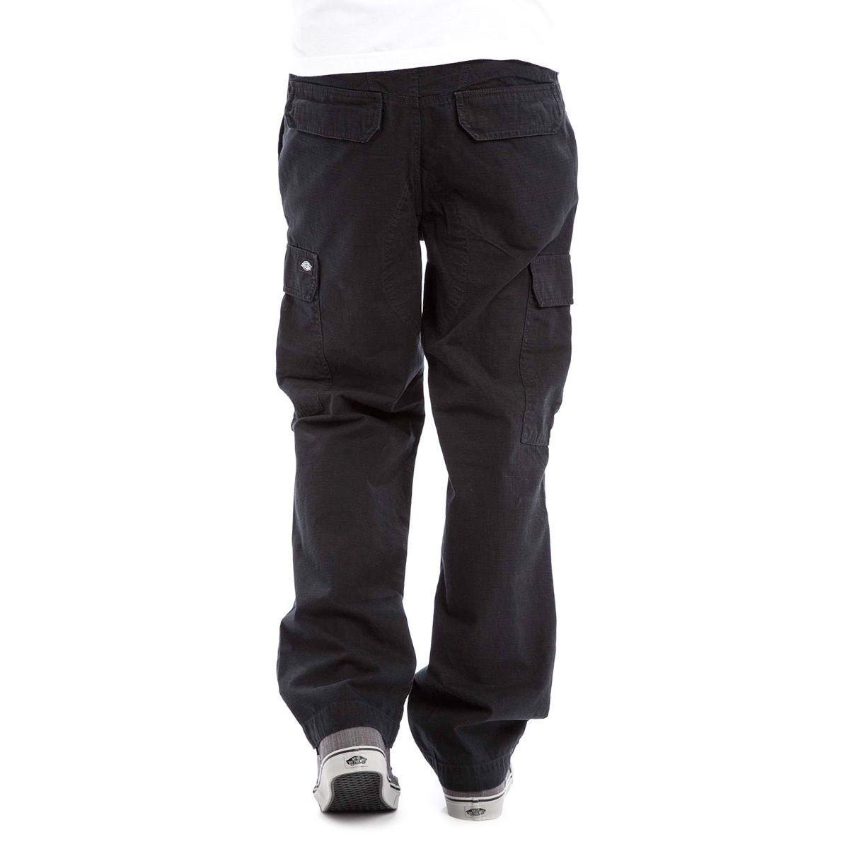 Dickies Pantalon New York Cargo Black Relaxed Fit